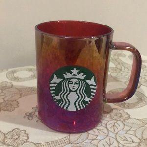 Starbucks 2019 Red Iridescent Mug